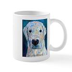 Blue Molly Mug