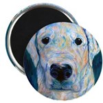 """Blue Molly 2.25"""" Magnet (100 pack)"""