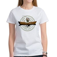 Mountain Stream drift fisher Women's T-Shirt