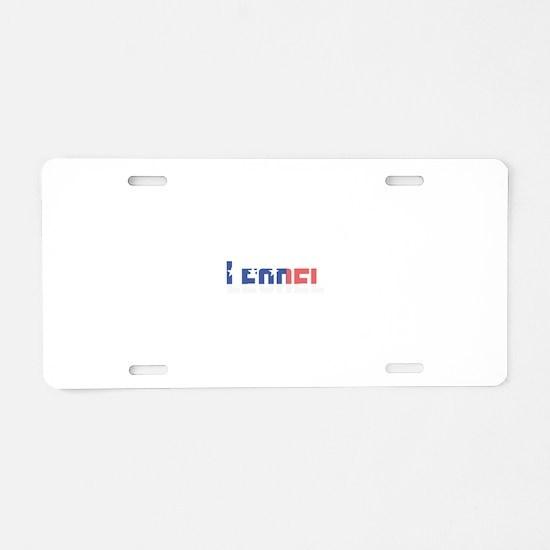 Leonel Aluminum License Plate