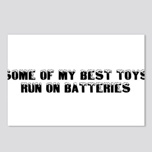 BEST TOYS RUN ON BATTERIES Postcards (Package of 8