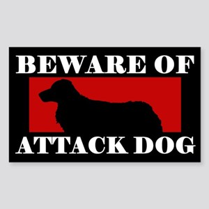 Beware of Attack Dog NSDTR Sticker