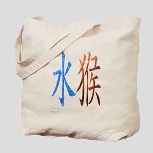 Chinese Water Monkey Tote Bag