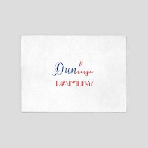Dunlap Family 5'x7'Area Rug