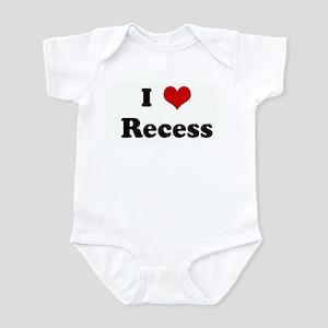 I Love Recess Infant Bodysuit