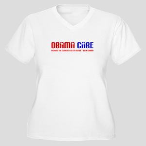 Obama Care Women's Plus Size V-Neck T-Shirt