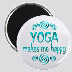 Yoga Happiness Magnet