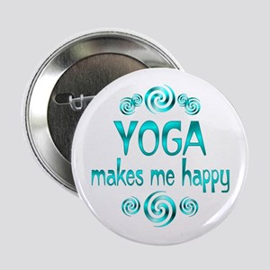 "Yoga Happiness 2.25"" Button"
