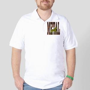 Chinese Metal Horse Golf Shirt