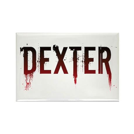 Dexter [text] Rectangle Magnet