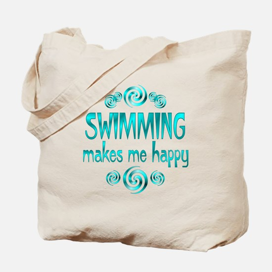 Swimming Tote Bag