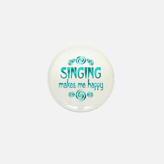 Singing Mini Button