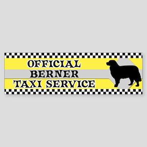 Official Berner Taxi Bumper Sticker