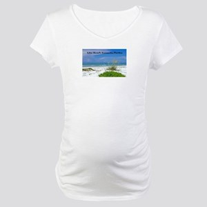 Lido Beach, Sarasota, Florida Maternity T-Shirt