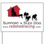 Red Shed Racing Yard Sign