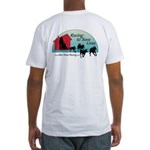 Red Shed Racing Fitted T-Shirt