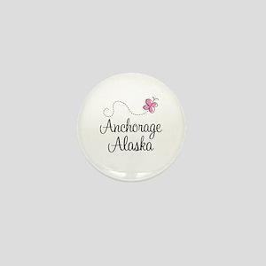 Cute Anchorage Mini Button