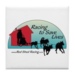 Red Shed Racing Tile Coaster
