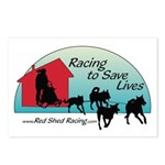 Red Shed Racing Postcards (Package of 8)