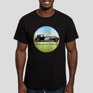 The Pebble Beach Men's Fitted T-Shirt (dark)