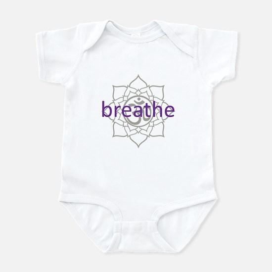 breathe Om Lotus Blossom Infant Bodysuit