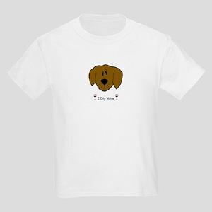 I Dig Wine Kids Light T-Shirt