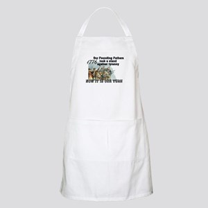 Our Founding Fathers took a s BBQ Apron