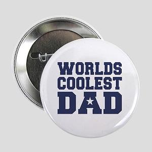 Worlds Coolest Dad Button
