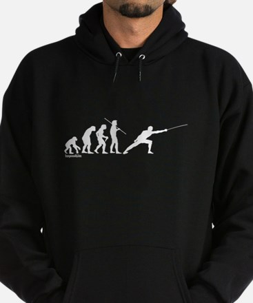 Fencing Evolution Hoodie (dark)