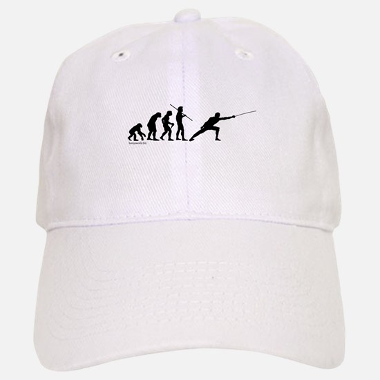 Fencing Evolution Baseball Baseball Cap