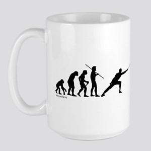 Fencing Evolution Large Mug