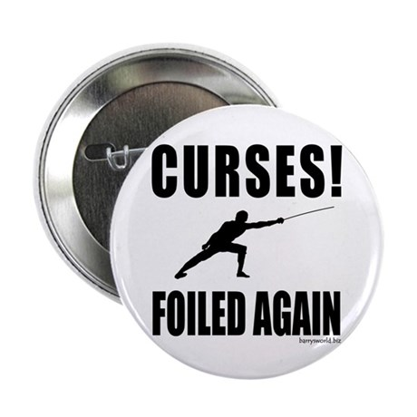 """Foiled! 2.25"""" Button (10 pack)"""