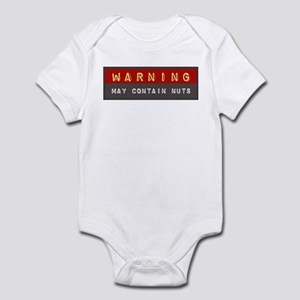 May Contain Nuts | Infant Bodysuit