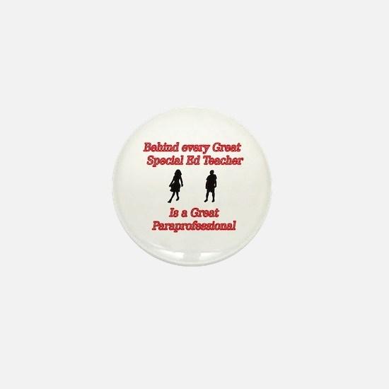 Funny Paraeducator Mini Button