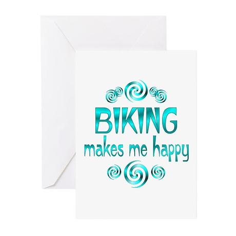 Biking Greeting Cards (Pk of 10)