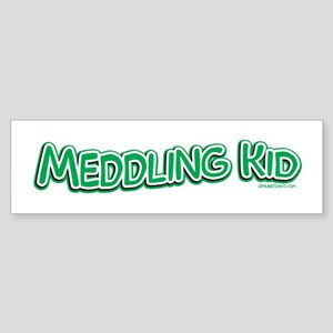 Meddling Kid Bumper Sticker