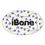 Bone Oval Sticker (50 pack) - Save More