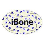 iBone Oval Sticker (10 pk) - SAVE