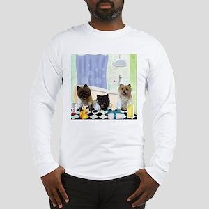 Cairn Terrier Bathtime Long Sleeve T-Shirt