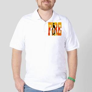Chinese Fire Snake Golf Shirt