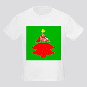 Holidays Christmas Tree w/ Star Kids Light T-Shirt