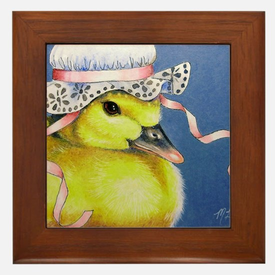 Duckling Framed Tile