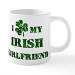Irish Girlfriend 20 oz Ceramic Mega Mug