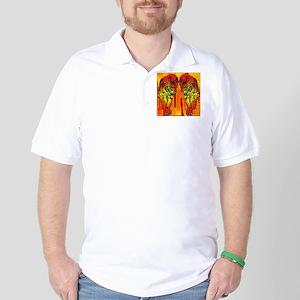Chinese Fire Tiger Golf Shirt