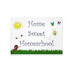 Home Sweet Homeschool 5'x7'area Rug