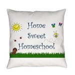 Home Sweet Homeschool Everyday Pillow