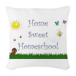 Home Sweet Homeschool Woven Throw Pillow