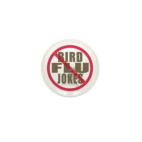 Bird Flu Windshield Shit Mini Button