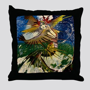 Crest O' The Wave Throw Pillow
