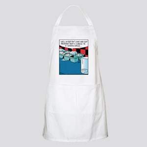 Ice Cube Window Office BBQ Apron
